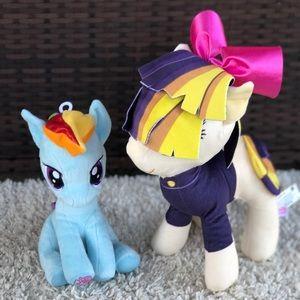 My Little Pony Songbird Serenade & Rainbow Dash